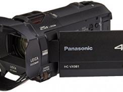 Panasonic HC-VX981K 4K HD Black Friday Deals 2021
